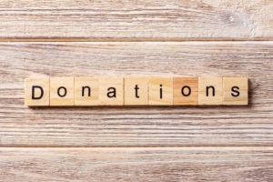 pledging donations